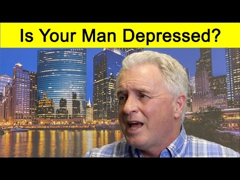 HOW YOU CAN TELL A MAN IS DEPRESSED