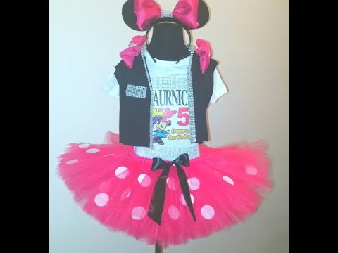 Minnie Mouse BIRTHDAY TUTU DRESS! #BdayFITS
