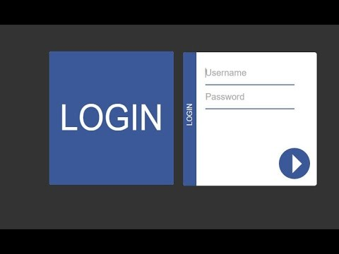 Animated Login Form Design using HTML 5, CSS 3 & jQuery
