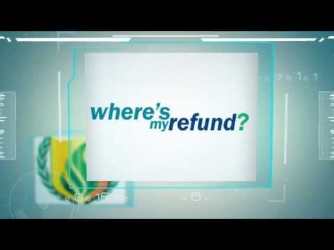 Where's My Tax Refund? Watch And Find Out!
