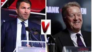 EDDIE HEARN AND FRANK WARREN TO COME FACE TO FACE IN BOSTON ON FRIDAY?! #SaundersAndrade