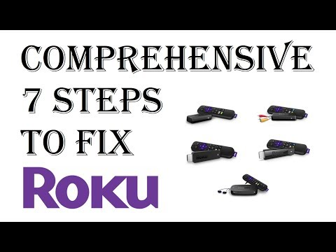 UPDATED 2018 - 7 Step Guide How To Fix All Roku Player Issues and Problems Troubleshooting Guide