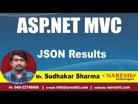 JSON Results in MVC | asp.net MVC Tutorials | By Mr.Sudhakar Sharma
