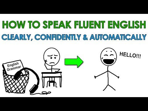 How to Speak Fluent English Clearly, Confidently and Automatically... Finally!!!
