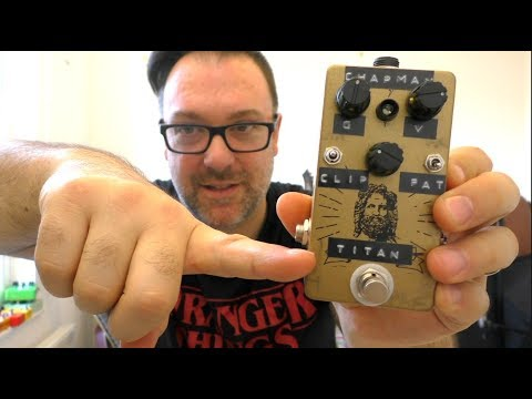 The Mythos Titan - Rob Chapman Signature Overdrive