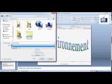 convertir un fichier powerpoint en pdf sans logiciel ,convert powerpoint to pdf without software