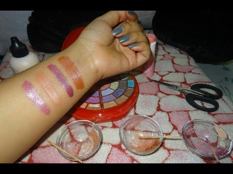 Easy DIY Lipstick | Homemade lip pigments | In Hindi