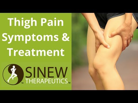Thigh Pain Symptoms and Treatment