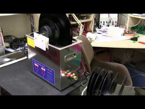 Ultrasonic Vinyl Record Cleaner. How to make. Part2  Results
