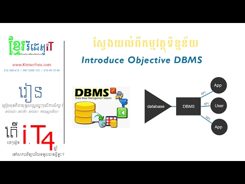 SQL Objectives of DBMS
