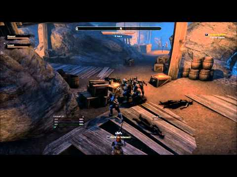 The Elder Scrolls Online - Multiboxer Bot group in Del's Claim