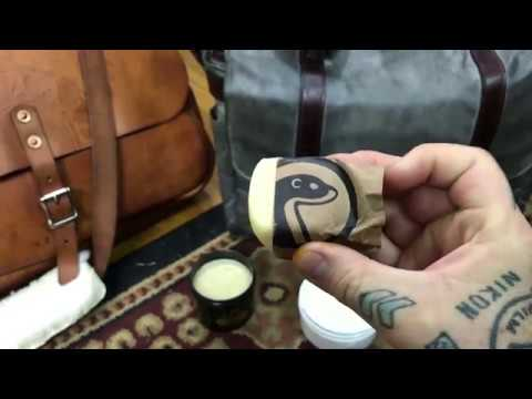 😁 HOW TO: Canvas & Leather CAMERA BAG restoration & weatherproofing