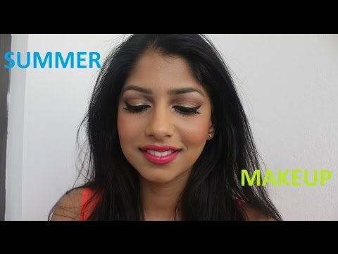 Summer Makeup! Perfect for Brown/Indian/Olive Skintone!!!