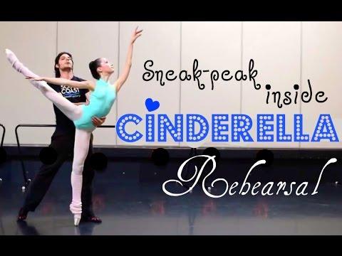 Sneak-peak Inside Cinderella Rehearsal!