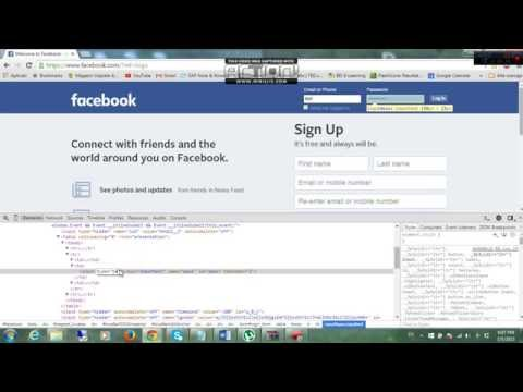 How to find someone's Facebook password