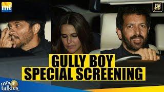 GULLY BOY Screening I Anil Kapoor, Neha Dhupia & Other Celebs I Ranveer Singh, Alia Bhatt