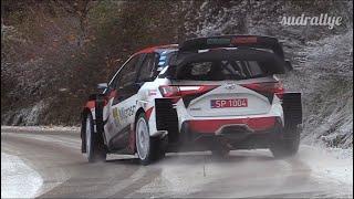Test Rallye Monte Carlo 2020 - 19 Years Old❗️Kalle Rovanperä (Yaris WRC)