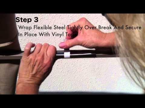 Patio Umbrella Rib Repair For Aluminum Ribs Repair Kit Instructions