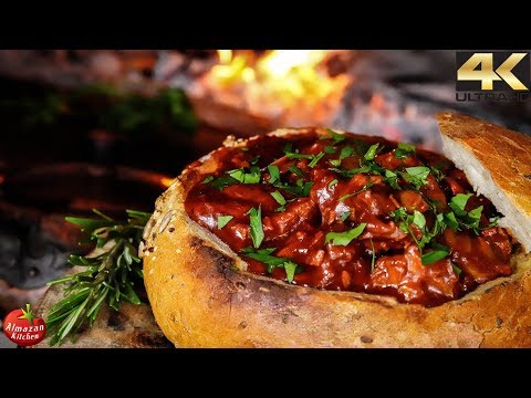 THE Epic Bread Goulash! - GoPro Cooking Outside 4K