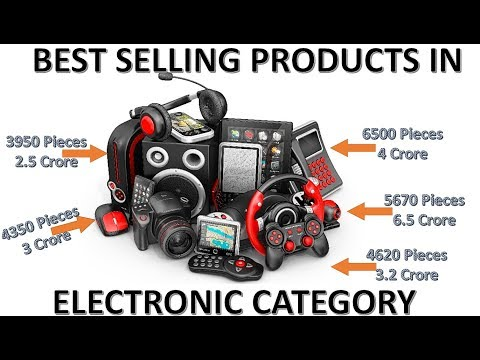 WHICH ELECTRONIC PRODUCTS YOU MUST ONLINE.  TOP SELLING ELECTRONIC PRODUCTS IN AMAZON