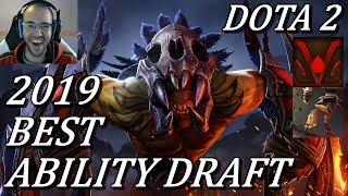 NEW BEST ABILITY DRAFT GAME! 54 KILLS | 1500 GPM | 5x RAMPAGE Dota 2