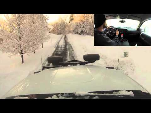 How to Snowplow a Driveway