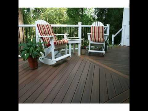 How to make an outdoor deck floor cloth
