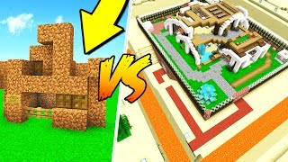 WORST MINECRAFT HOUSE VS. WORLD