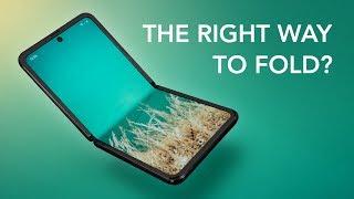 Samsung Galaxy Z Flip - Thicker Than Your Wallet