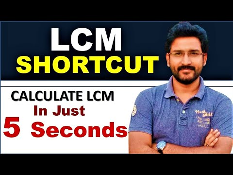 Fastest  Maths Trick - Find LCM in just 5seconds    By VipraMinds