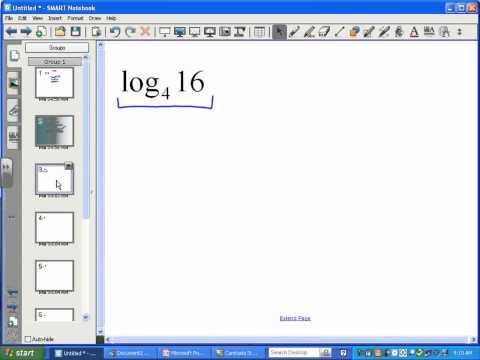 Basics of Logarithms (Part 1) - LT8