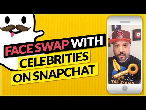 How to Face Swap With Celebrities on Snapchat
