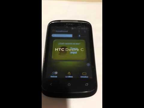 APLICACION SOUNDHOUND EN HTC DESIRE C