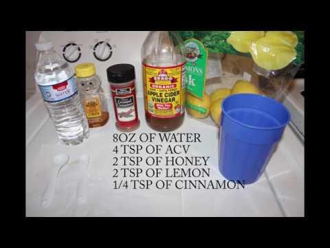 Apple Cider Vinegar Weight Loss Drink! 9lbs down in 1 week!