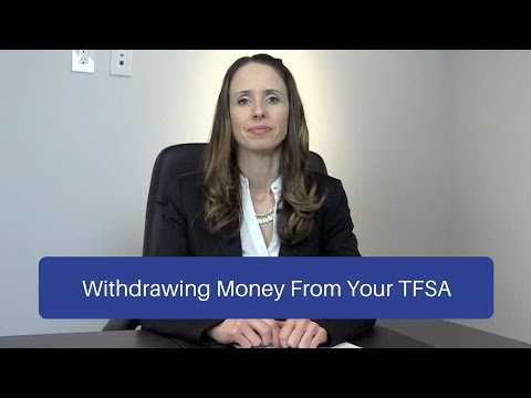 Withdrawing money out of your TFSA