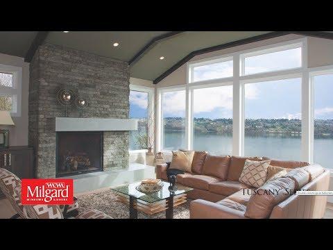 Milgard® Tuscany® Series Vinyl Windows and Patio Doors