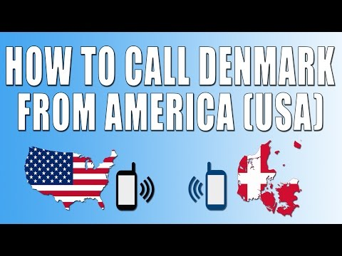 How To Call Denmark From America (USA)