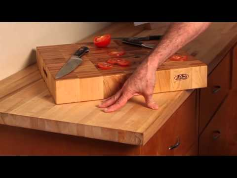 Damaged Wood Counter Top | McClure Butcher Block | Counter Top With Oil Finish Damage Part 1