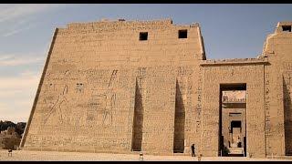 Ancient Temple of Queen Hatshepsuit, Medinet Habu, Karnak Temple in Luxor Egypt