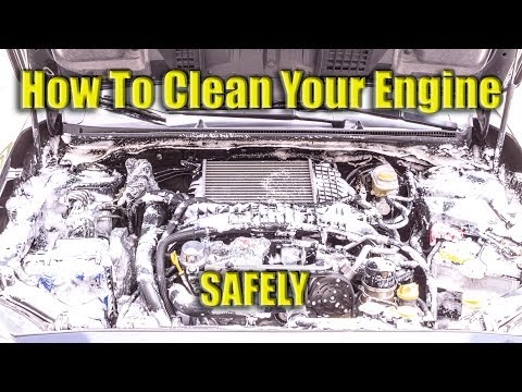 How to Clean Your Engine Safely