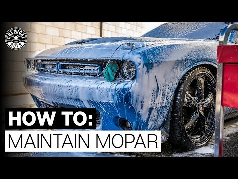 Mopar Detail | Custom Built Dodge Challenger Wash! - Chemical Guys Car Care