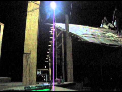 Ghodwali roof - bamboo roof timelapse