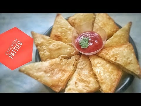 Crispy Box Chicken Patties Recipe   Chicken Pattice    iftari recipes-15   ramazan special
