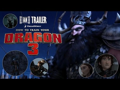 How To Train Your Dragon 3 Trailer - (Fan Trailer #1)