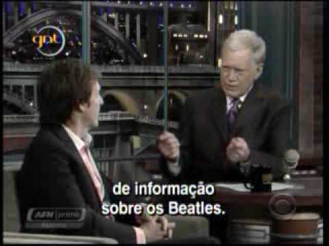 David Letterman anuncia aposentadoria