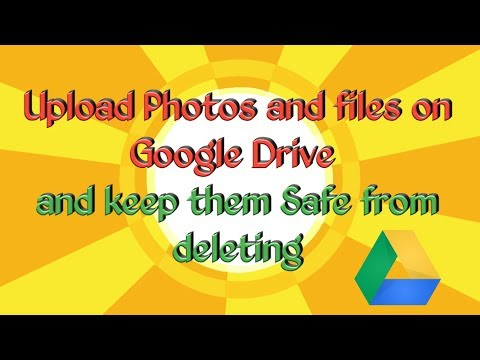 How to upload important photos and files on Google Drive | Don't Worry​ about deleting photos _Hindi