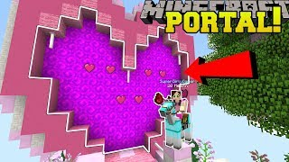 Minecraft: PORTAL TO THE VALENTINE