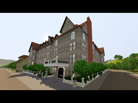 The Sims 3 - Building Paradis Hotel