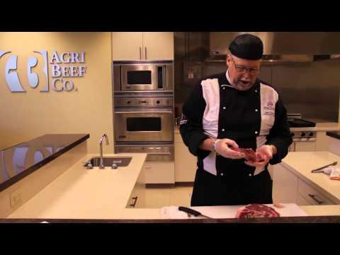 How to Cut a Whole Boneless Ribeye Into Steak : Beef & Roasts