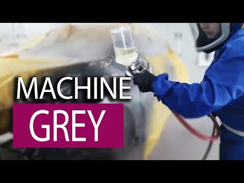 Spraying Maza 46G Machine Grey Metallic